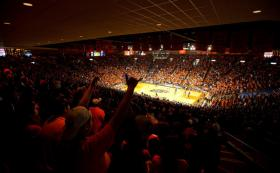 Fans at the Don Haskins Center, 2011.