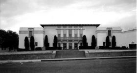 The original Library & Administration Bldg.