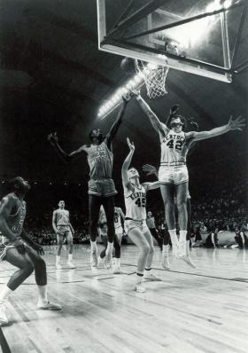 1966 Championship Team in action