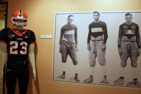 Image from the Miner Strong exhibit