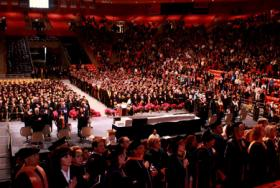 Image from UTEP's 2012 Commencement