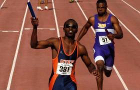 Churandy Martina, one of UTEP's Olympic athletes