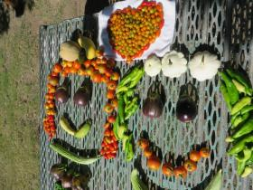 Vegetables make us happy!