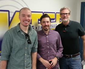 Ben Stanton, Dave Stanton, and host Charles Horak
