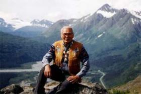 Athabascan elder Robert Charlie.