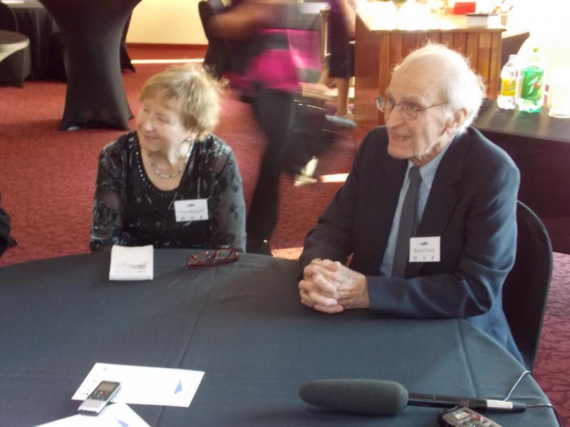 Sikuliaq sponsors Vera Alexander and Bob Elsner