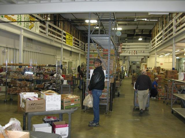 The Fairbanks Community Foodbank fills up with food this time of year.