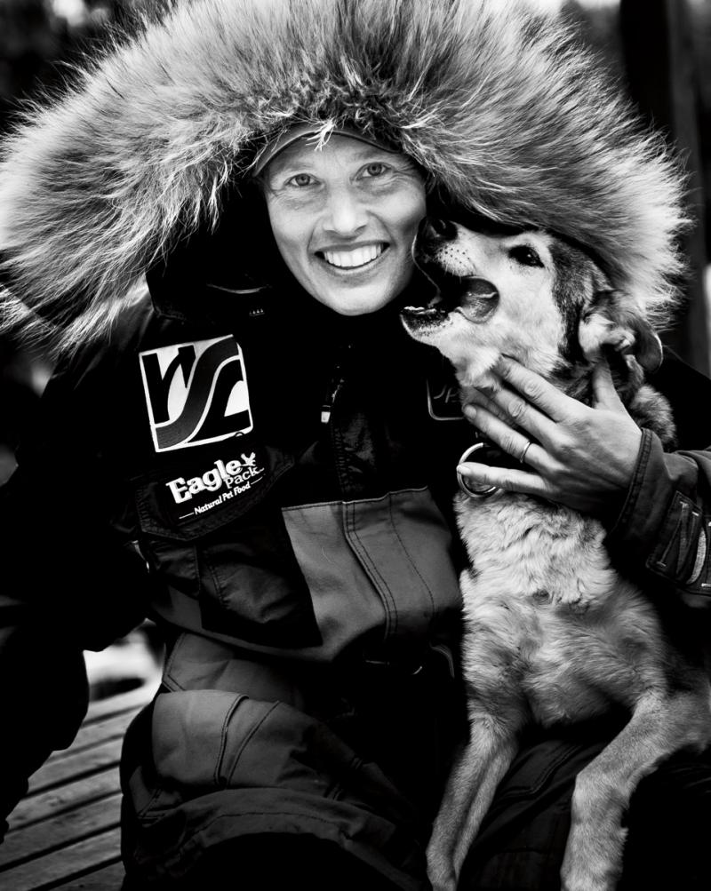 Two Rivers Musher, 2000 Yukon Quest Champ and 12 time Iditarod finisher Aliy Zirkle.