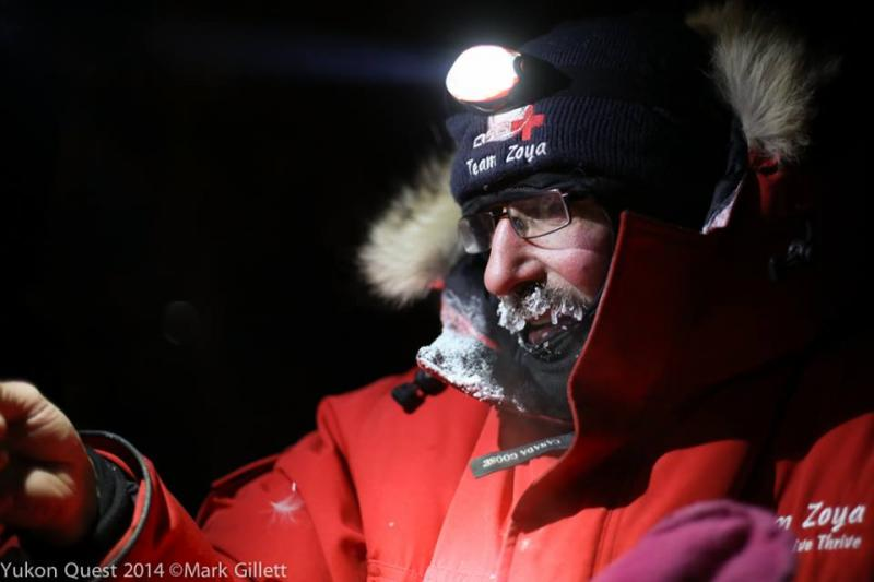 John Schandelmeier has run the Yukon Quest 16 times, won twice and finsihed in the top ten 14 times and never scratched.