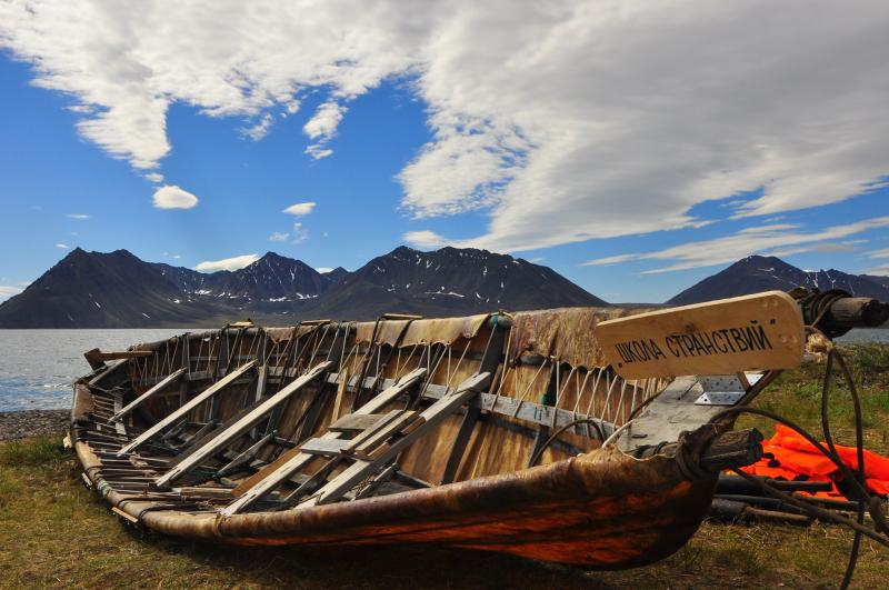 Walrus skin boat races were the main event at the inuagural Beringia Arctic Games