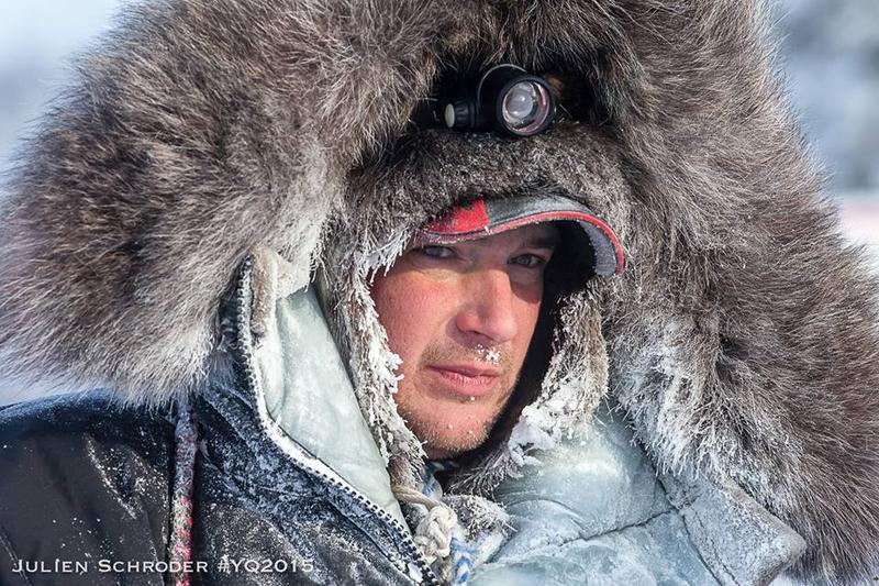 Ray Redington Jr. is surprised by subzero temperatures in this year's race