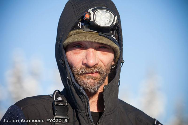 Lance Mackey's fingers are frostbitten. In Pelly Crossing, the champion musher was determined to push on