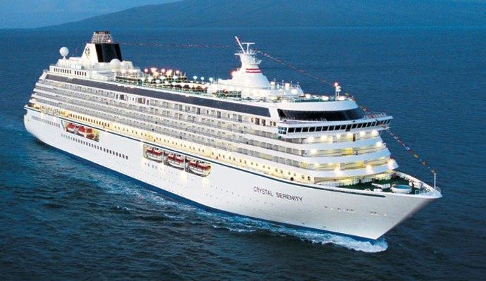 US Canadian Coast Guards Hold Exercise To Ready For Big Cruise - Big cruise ship
