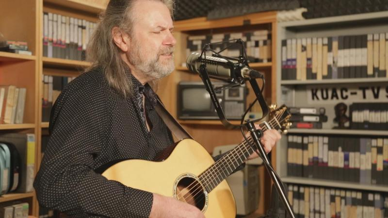 Beppe Gambetta in our newly remodeled studio