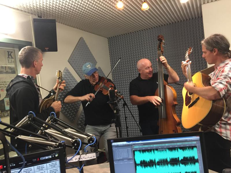 StringRays are all smiles at KUAC's Alaska Live