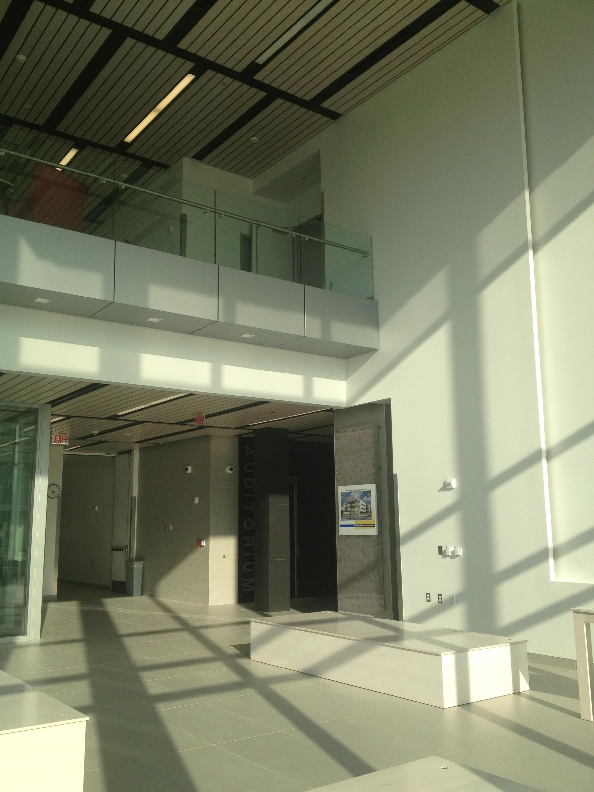 Open Foyer University : University dedicates murie building kuac