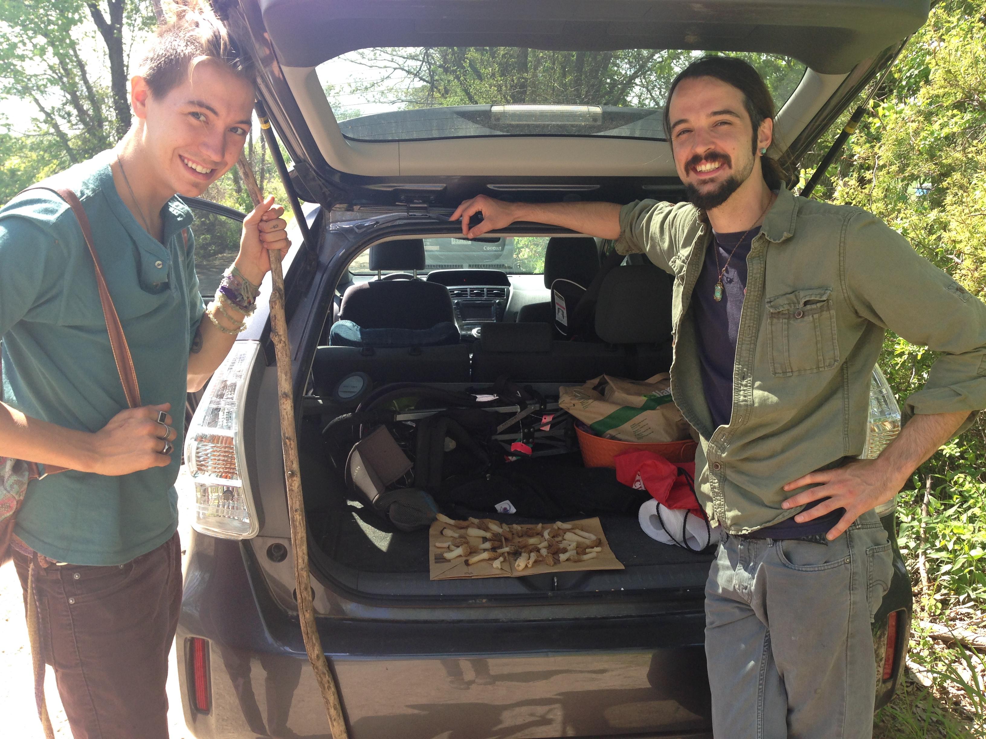mo morels go mushroom hunting ozarks at large kuaf