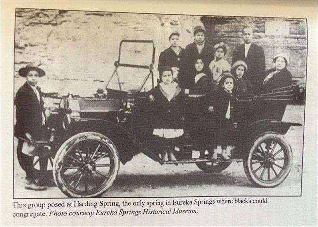 Eureka Springs African American tourists, circa 1920s