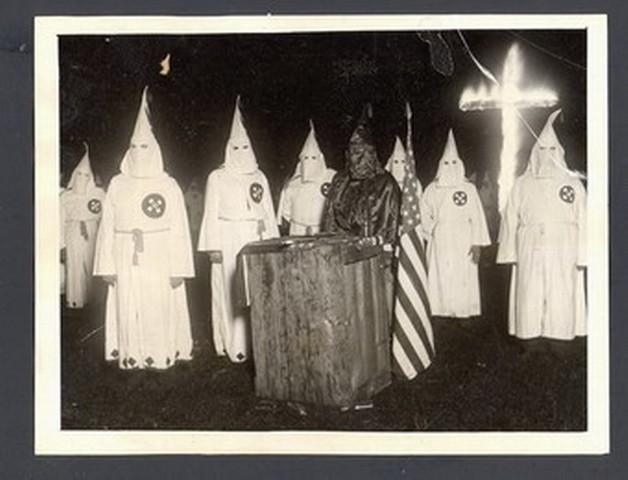 The Ku Klux Klan staged cross-burnings and terrorist acts across the Arkansas Ozarks in an effort to drive provincial African Americans out