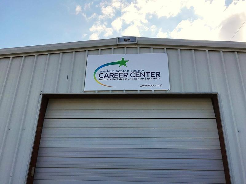The Western Benton County Career Center is a temporary solution that allows Gravette, Bentonville, Decatur and Gentry school districts to combine their efforts to offer students voc-tech courses