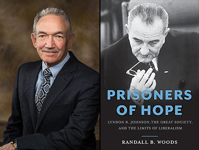 Randall Woods, Distinguished Professor of history at the University of Arkansas, is the author of Prisoners of Hope: Lyndon B. Johnson, the Great Society, and the Limits of Liberalism.