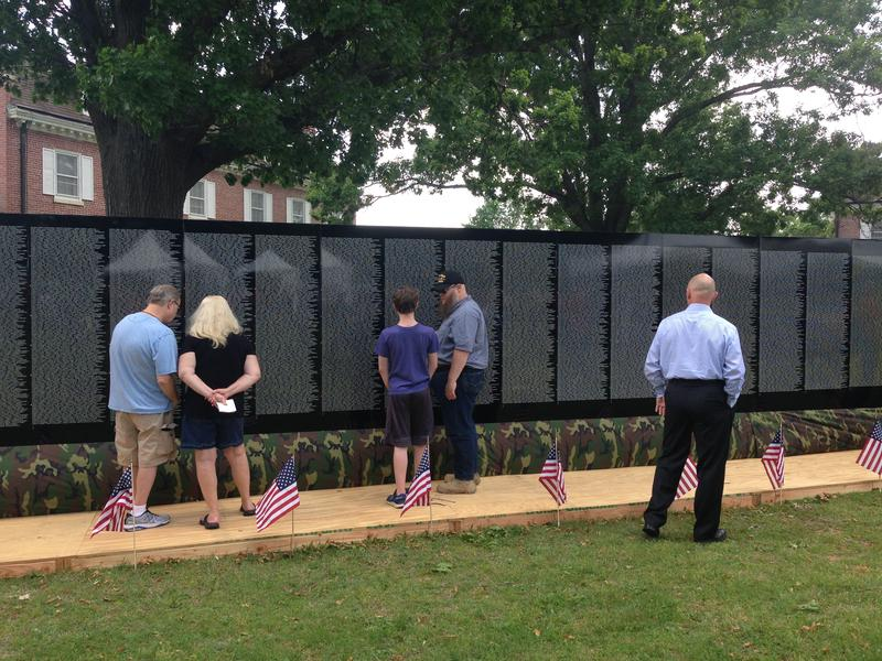 Northwest Arkansas residents can visit the Moving Wall at the Veterans Health Care System of the Ozarks in Fayetteville May 18-22.