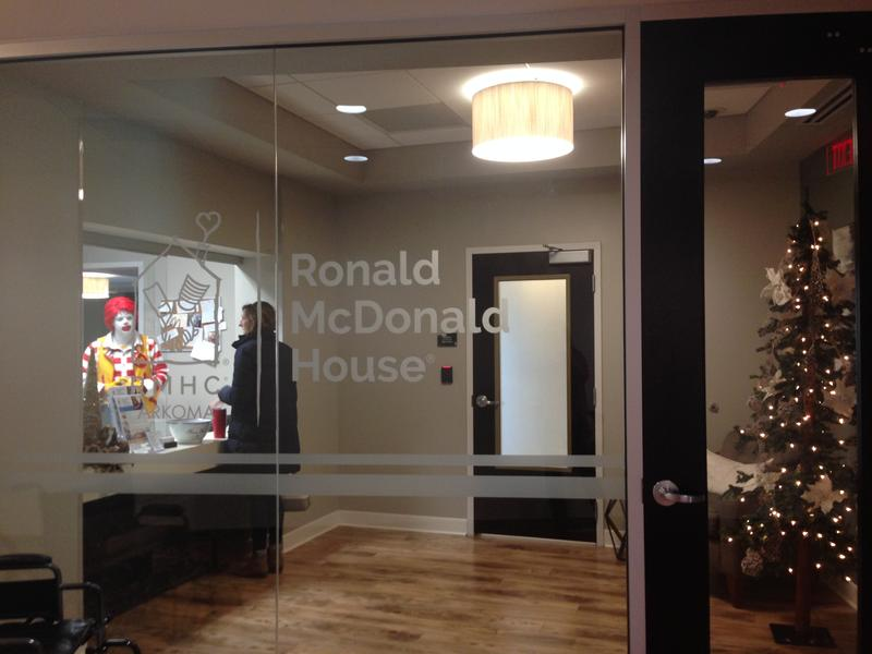 The Ronald McDonald House in Fayetteville serves famillies 24 hours a day, 365 days a year. Since opening last year, the home as been at 89 percent capacity.