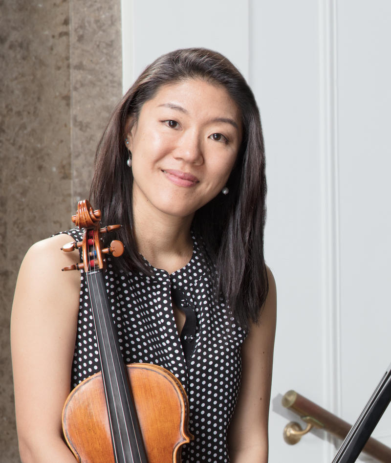Er-Gene Kahng, graduate chair of violin in the Department of Music.