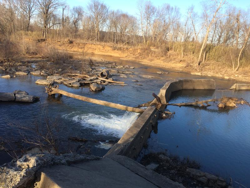 After it's cleaned up, this portion of the West Fork of the White River could be turned into a public whitewater park.