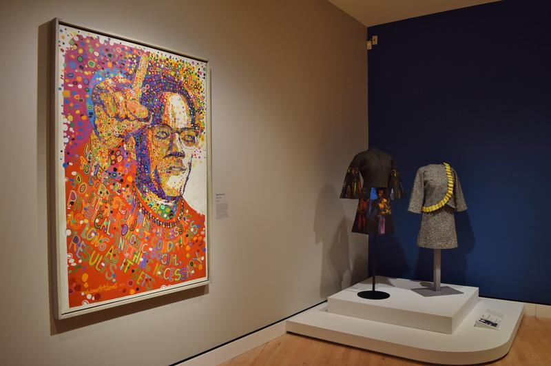 """""""Black Prince"""" by Wadsworth Jarrell and """"Revolutionary Suit"""" by Jae Jarrell"""