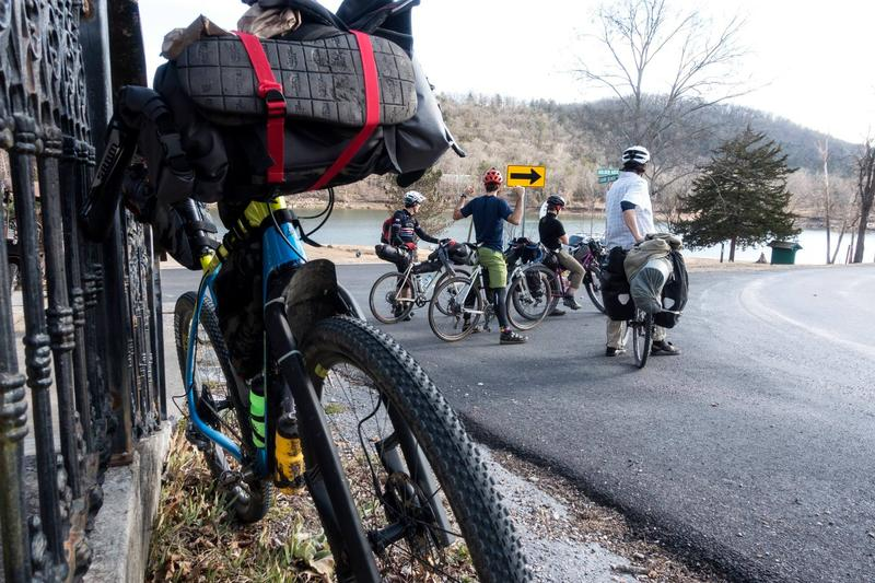 When the group started their ride on a Friday in mid-February temperatures were in the 60s.