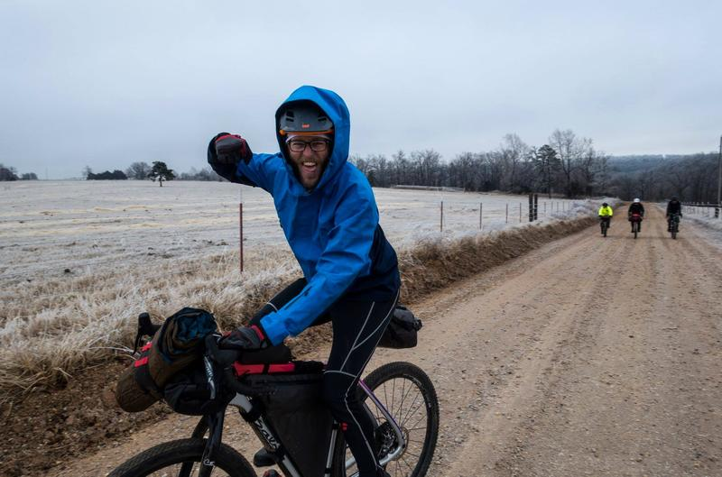 Despite the frigid temperatures, riders agree the atmosphere stayed positive.