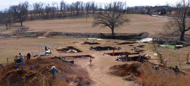 A team of archeologists recently wrapped up an excavation project in west Fayetteville. Thousands of artifacts were recovered.