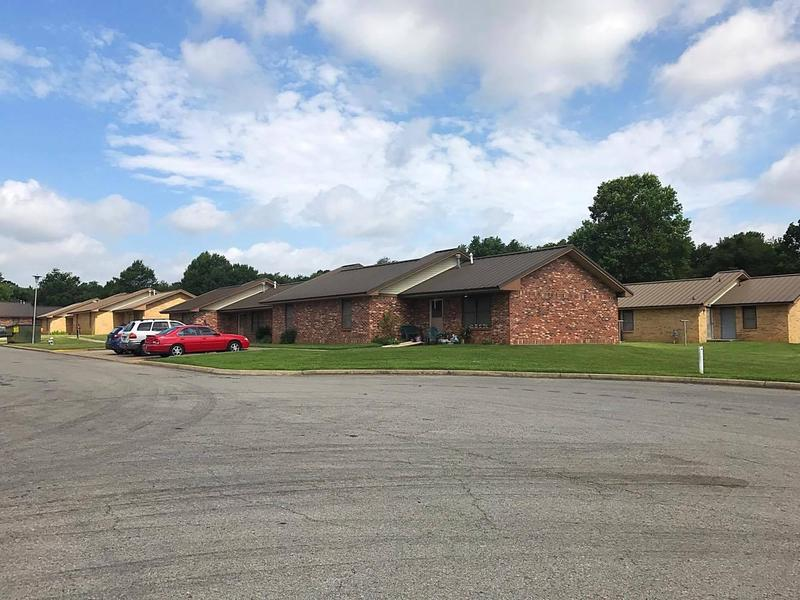 Fayetteville Housing Authority's Morgan Manor property as seen in June 2017.