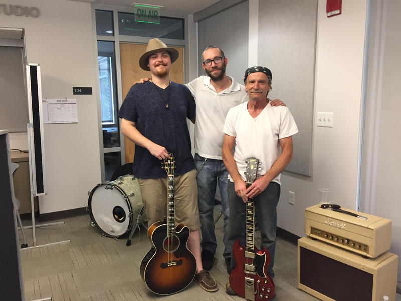 Pat Ryan Key, Zach Quam and Al Halpin stopped by KUAF this week to perform new music.