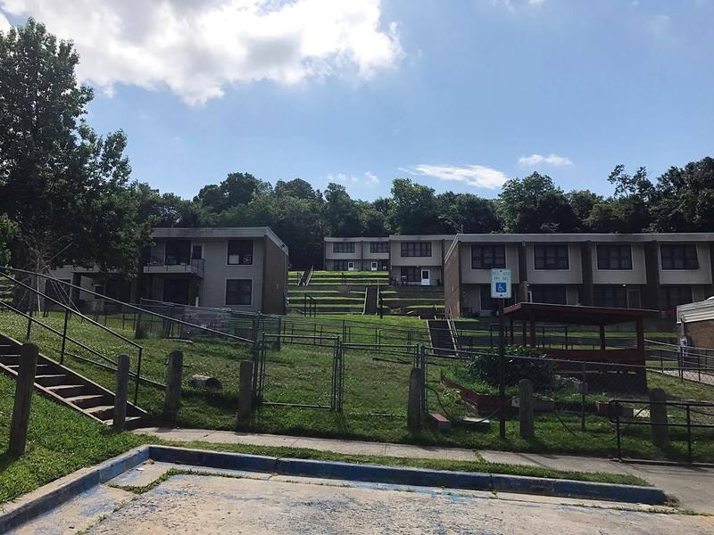 Fayetteville Housing Authority's Willow Heights property as seen in June 2017.