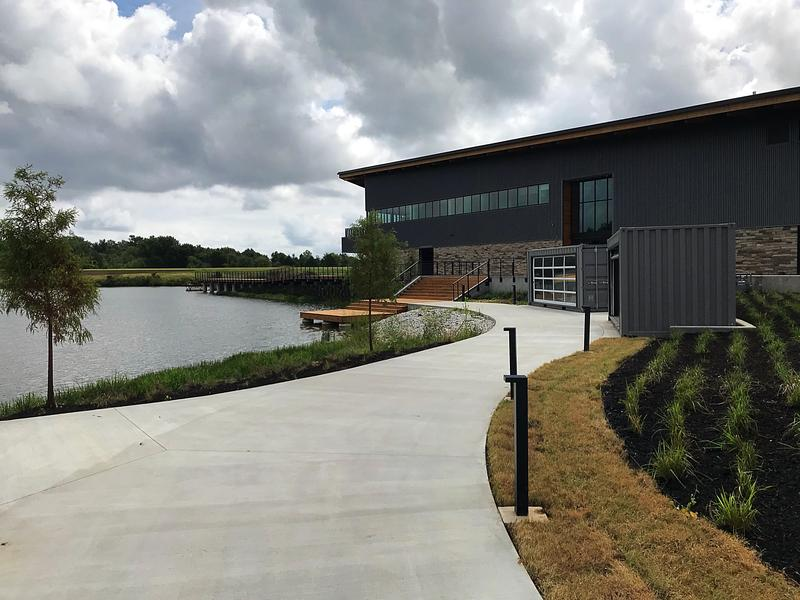 The Thaden Fieldhouse features a boardwalk that will give visitors access to kayaks, canoes, stand-up paddle boards and fishing.