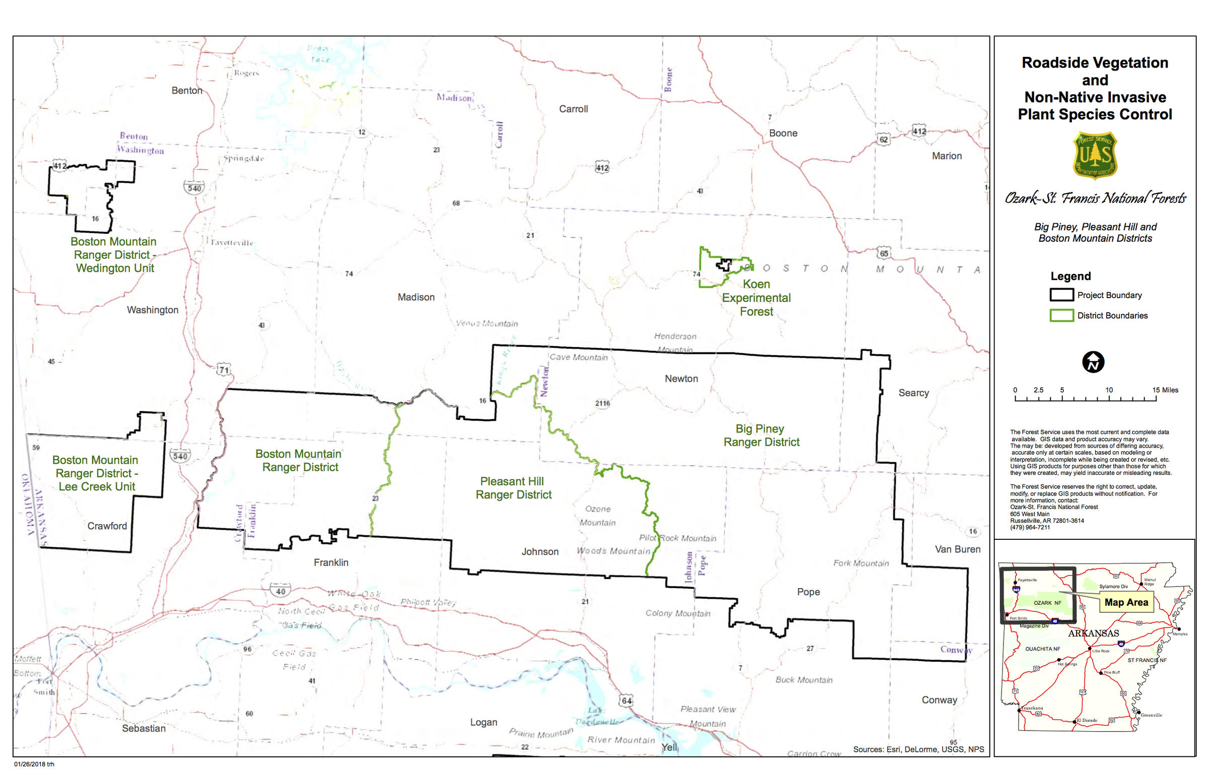 Ozark-St. Francis National Forest Proposes Ambitious Roadside ...