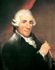 Portrait of Franz Joseph Haydn by Thomas Hardy