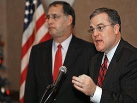 Senator John Boozman and Mark Pryor
