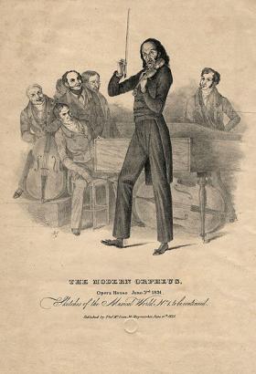 Nicolo Paganini by Richard James Lane, 1831