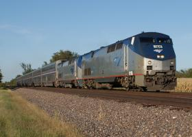 Amtrak Texas Eagle Passenger Train