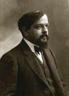 Claude Debussy photographed by Felix Nadar, ca. 1908