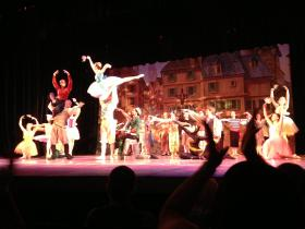 "The finale to Sunday's performance of ""Pinocchio"""