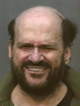 Tony Alamo mug shot after he was arrested.