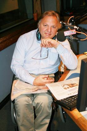 John Hockenberry, host of The Takeaway
