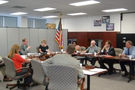 Board of Election Commissioners (Secretary of State Mark Martin is absent)