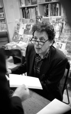 Phillip Glass, composer and cousin to Ira Glass.