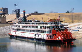 The Delta Queen steamboat is one of America's well-known reminders of the mid to late nineteenth-century.
