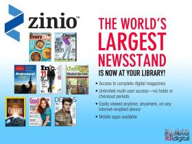 Zinio is the new system that will bring digital magazines to CALS.